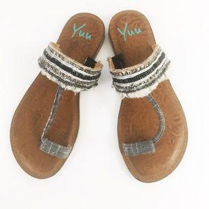Yúú Boho Toe Sandals